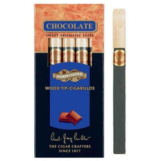 Сигариллы Handlesgold Wood Tip Chocolate